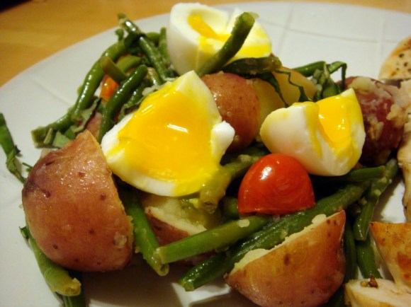 Warm Potato, Green Bean, and Egg Salad